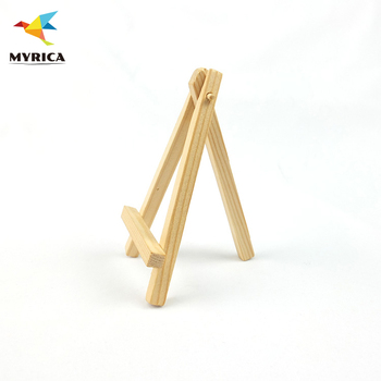 Wooden Art Display Stand Small Table Top Wood Easel For Painting
