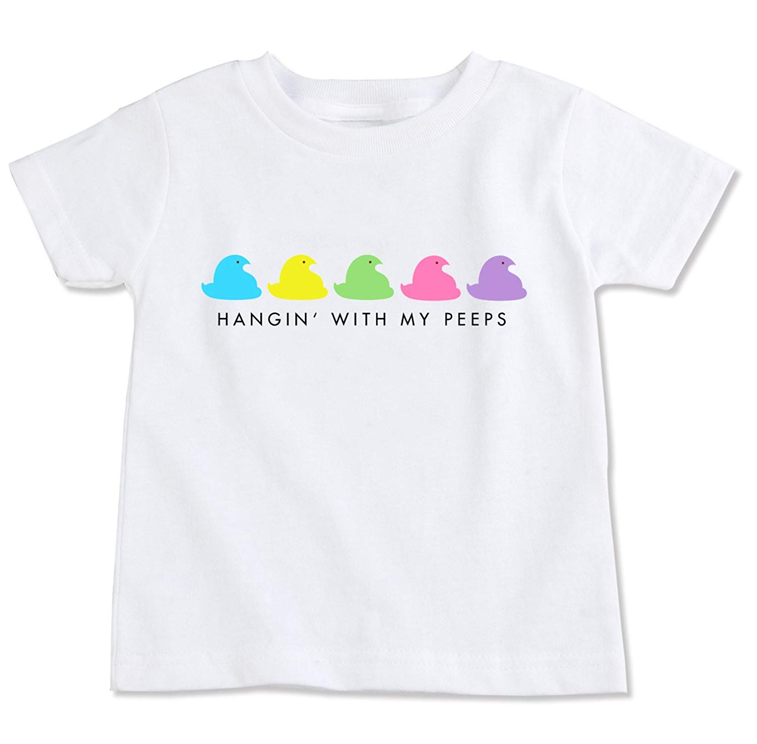 TooLoud Chillin with My Peeps Toddler T-Shirt