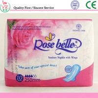 Very low price china supplier hot sell disposable best ladies napkins pads