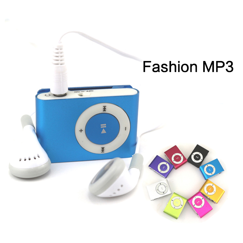 China Factory Selling Classic Retro Portable Mini Metal Clip <strong>MP3</strong> Player Sport Music Player with SD/TF Card Slot