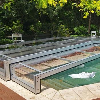 Telescopic Sunroom Pool Enclosure / Polycarbonate Swimming Pool Cover - Buy  Rigid Swimming Pool Cover,Sunroom Pool Enclosure,Telescopic Polycaronate ...