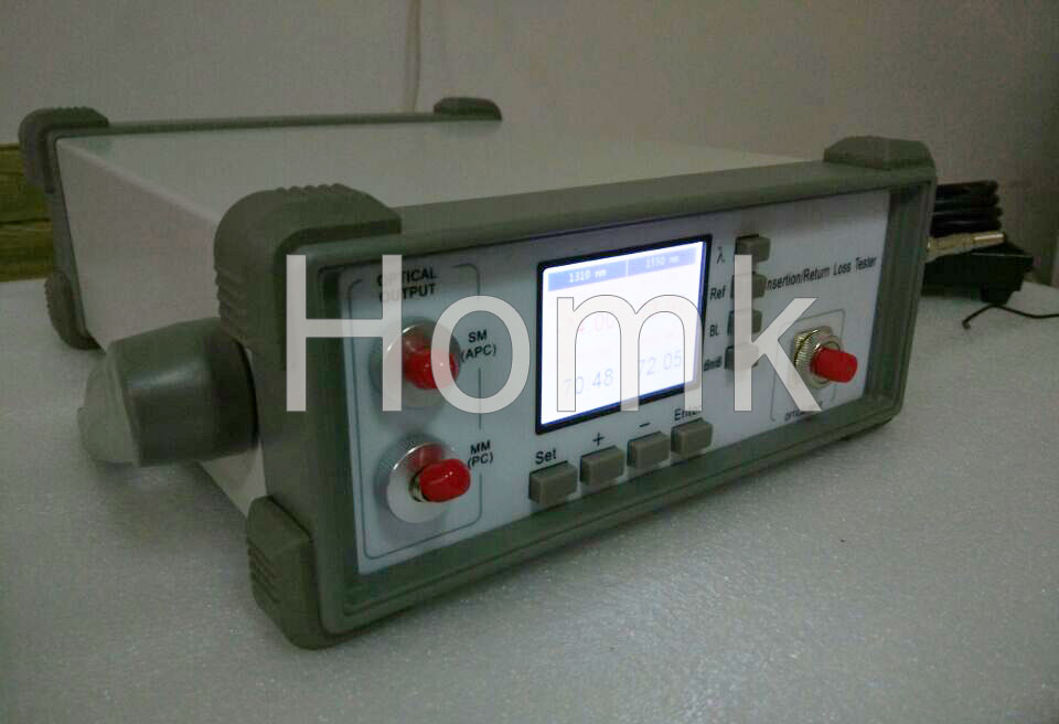Fiber optic insertion loss tester HK 9S from Homk
