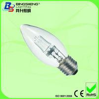 E27 18W C35 Halogen Bulb