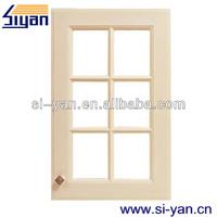 cabinet pvc door glass inserts