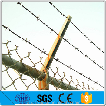Hot Dipped Galvanized 12x14 Gauge Barbed Wire Puller Fence For Field ...