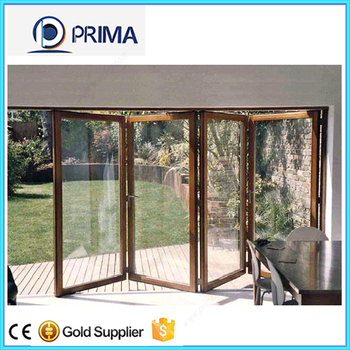 Aluminum Bi Folding Door Bi Fold Screen Door Buy Bi Fold