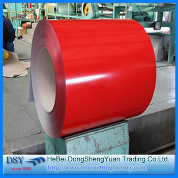 Color Coated Steel Products Meter 1mm Iron Sheets