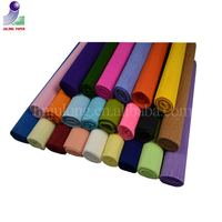 Best price high quality color craft Crepe paper for Crafting/Flower Packing/Gift wrapping