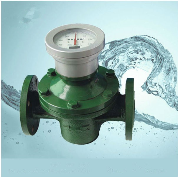 Mechanical Oval gear Flow meter for liquid, diesel, gasoline, petrol