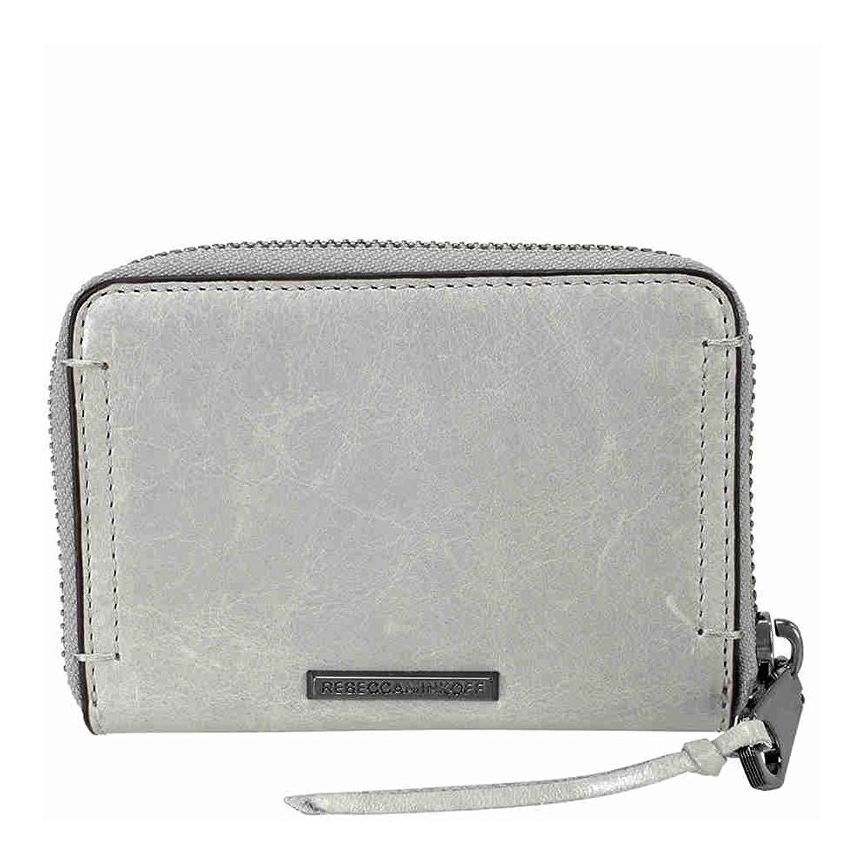 Rebecca Minkoff Mini Regan Leather Wallet - Putty
