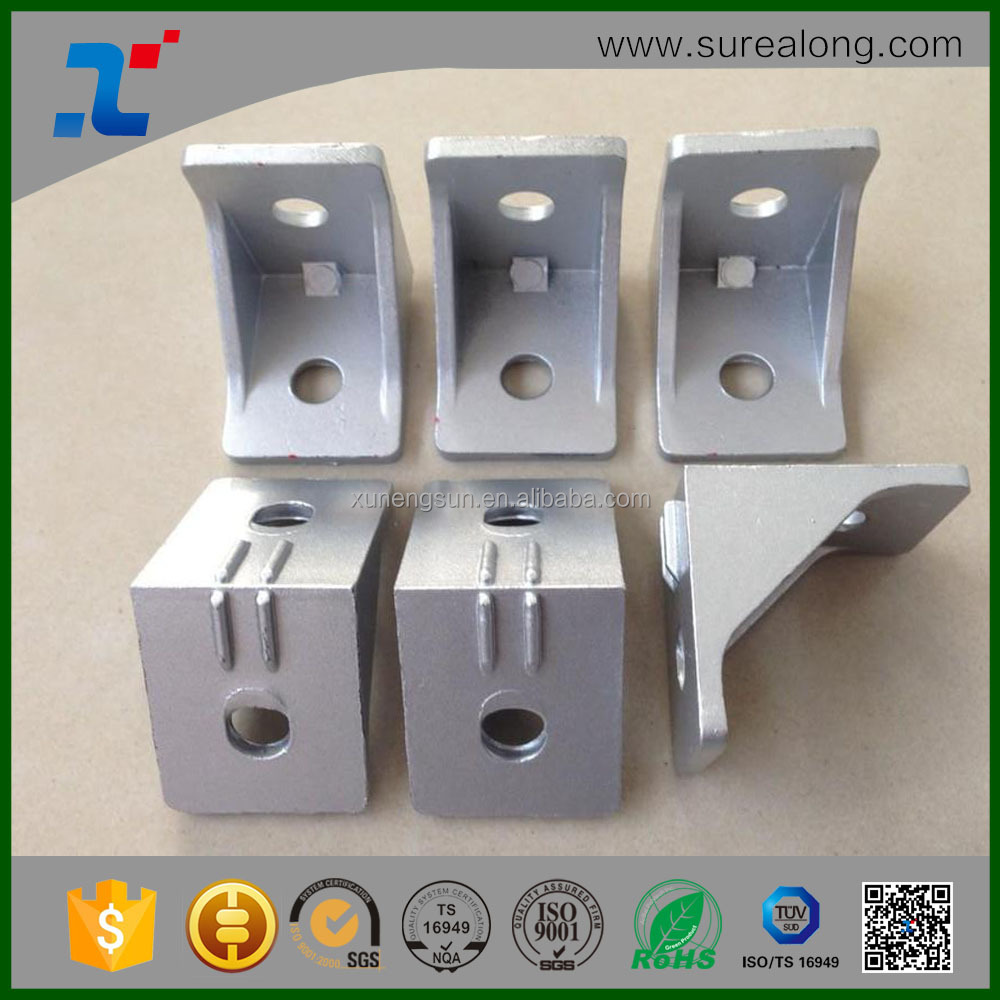 SUREALONG Gold factory of Corner Angle Joint Bracket Aluminum Profile