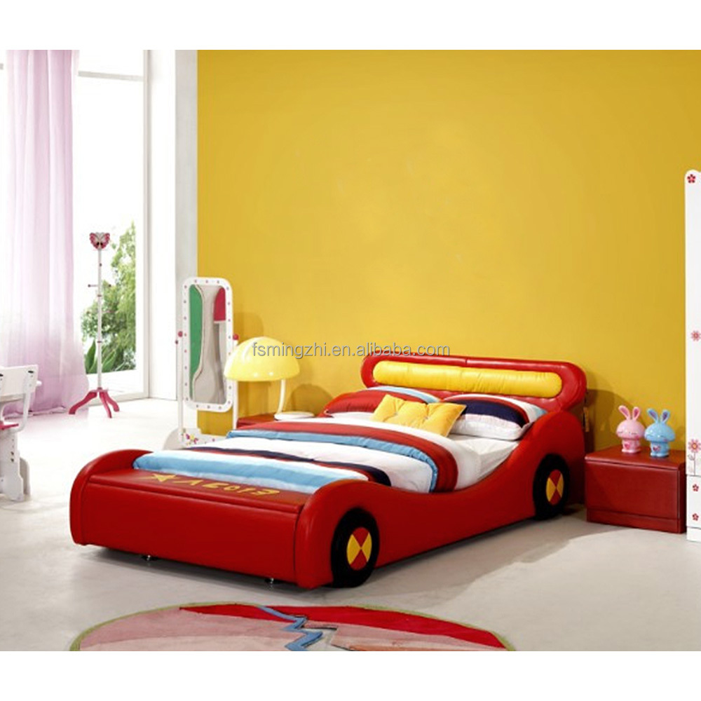 Lovely Children Red Car Bed For Boys Dse0003 1 Buy King Size