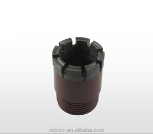 High quality longer drilling intervals hard rock diamond PDC Core drill bit for construction geological drilling