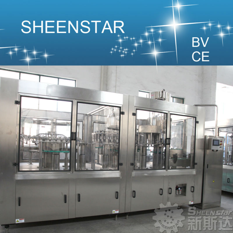 New Hot Sale Automatic fruit puree bottling machine