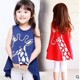 2015 Girls clothes Baby Girl Clothing top tee Children Flower Bow Cute Suit 1PCS Kids Top