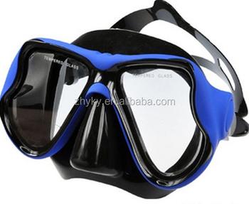 c758f2bd6 Óculos de Mergulho Equipamento de Mergulho Máscara de mergulho Snorkel  Silicone Conjunto Com Óculos de proteção