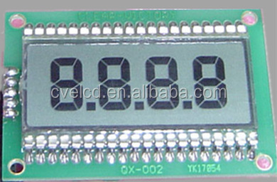 High quality 2 digit lcd display , 3 digit lcd 7 segment display , smart watch module