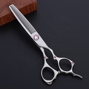 Professional hairdressing scissors high quality japan steel 440C hot sale salon thinning cutting scissors MXS622