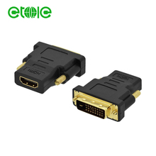 high speed male hdmi to female dvi d av adapter