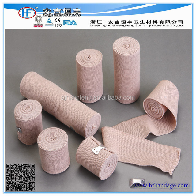High elastic bandage white& skin colour CE ISO FDA approved