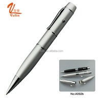 New arrival metal USB pen for memory record