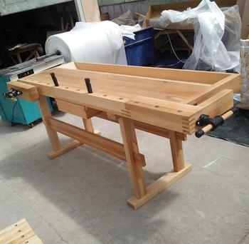 Remarkable Beech Big Vise Wooden Workbench For Sale Buy Wooden Workbench Big Vise Workbench Workbench Product On Alibaba Com Short Links Chair Design For Home Short Linksinfo