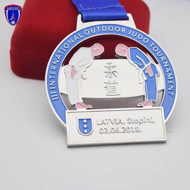 340 mm Judo Taekwondo Acrylique Trophy Cup OR ou ARGENT Gravure Gratuite