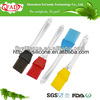 New style cooking tools silicone kitchen brush with plastic handle