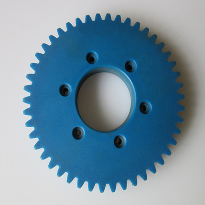 Machinery high impact resistant nylon bevel <strong>gear</strong> for paper shredder
