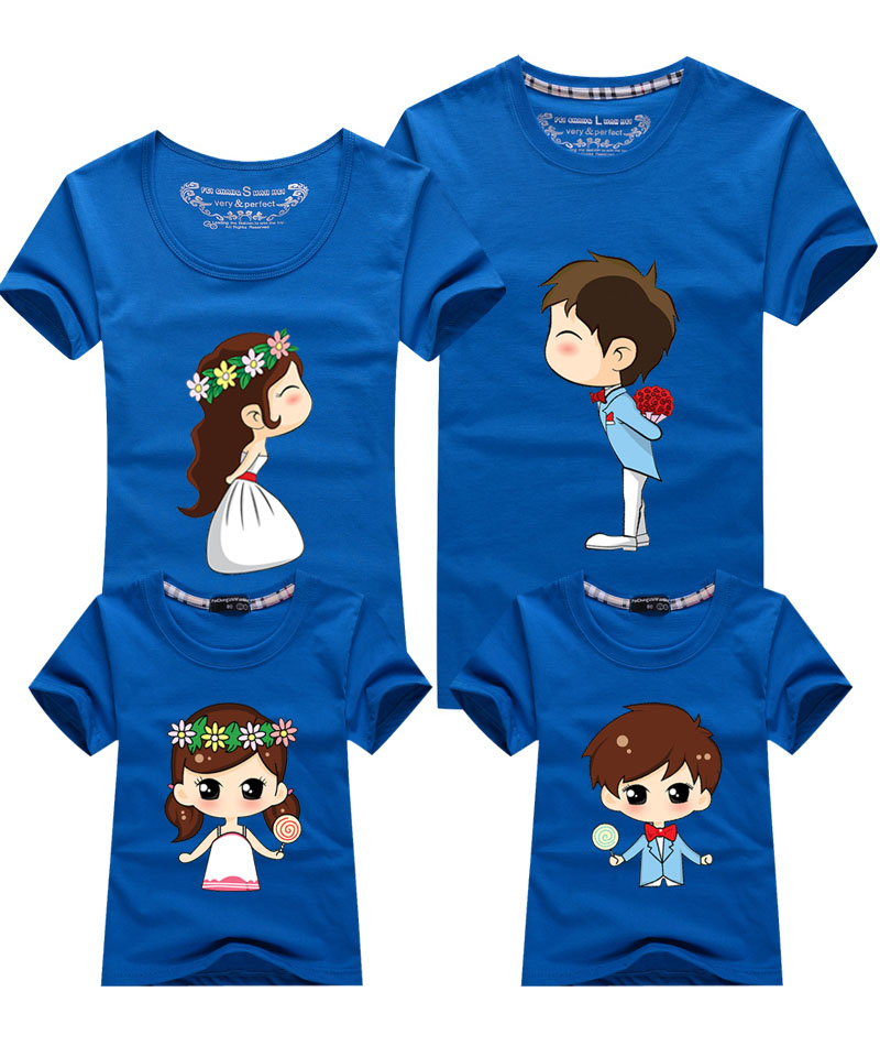 Cute Family Matching Clothes 11 Colors Matching Mother ...