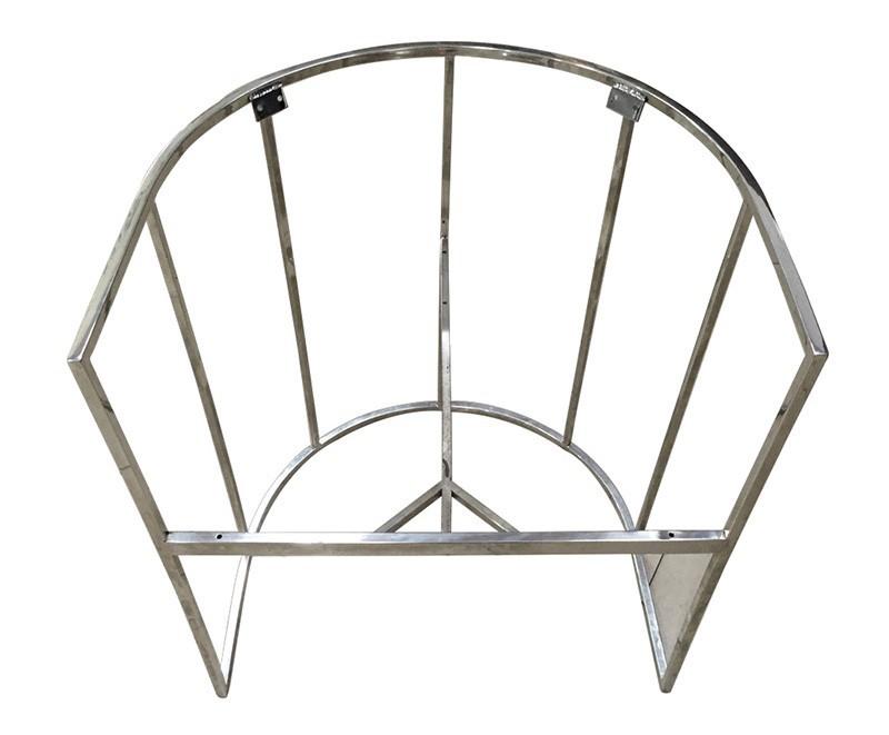 Maßgeschneiderte Edelstahl Metall Stuhl Rahmen,Stahlrohr Sofa Rahmen ...
