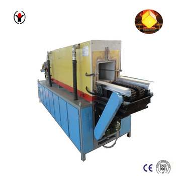 induction furnace reheat to 1250c steel billet goes into rolling machine