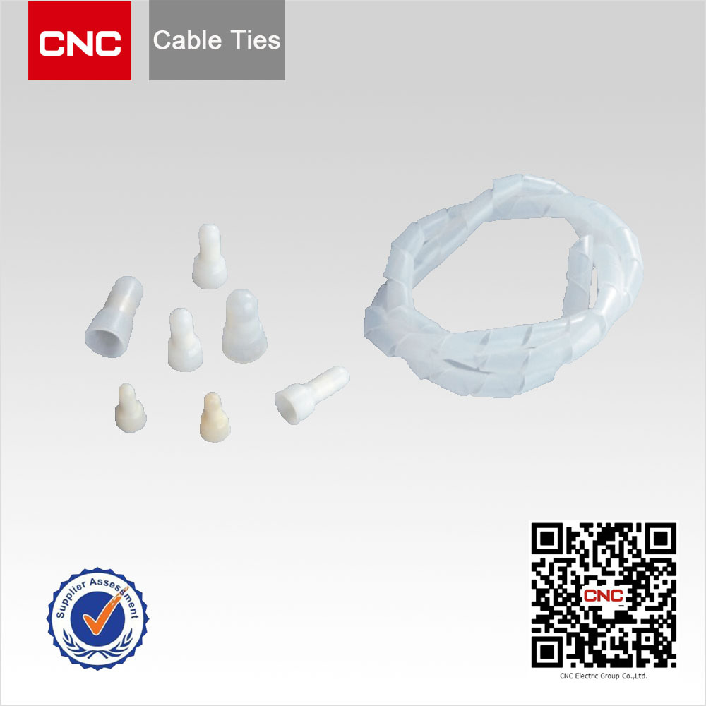 Cable Clamps,Terminal Blocks,Nylon Close-end wire to board connector,Spiral Wrapping Bands