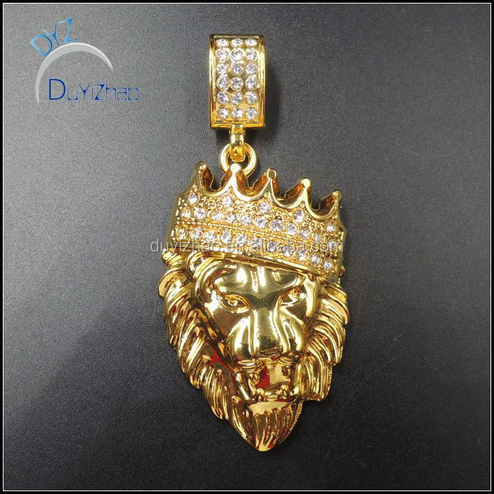 Gold Lion Pendant Gold Lion Pendant Suppliers and Manufacturers at