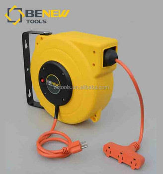 Usa Extension Retractable Power Cable Reel Buy Spring