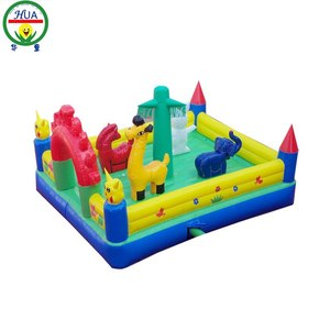 Commercial Bouncy Castles Water Park Air Bed Inflatable Bouncer