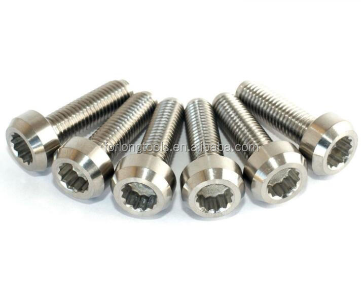 Titanium Split Rim Bolts M8x32 - Buy M8x32mm Titanium Split Rim Bolt,M7  Titanium Bolt 12 Point Flanged Head Split Rim Bolt,Inner 12 Point Titanium