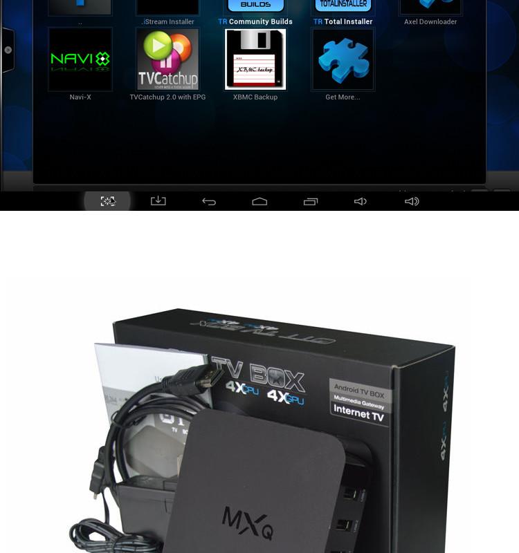 MXQ Amlogic S805 Quad-Core Android OTT TV Box Himedia Ziddo M8S MINIX