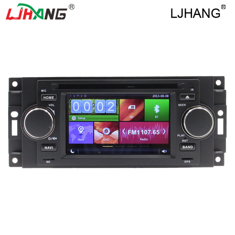 car radio gps navigation dvd player for Chrysler 300c multimedia tape recorder Bluetooth-Enabled