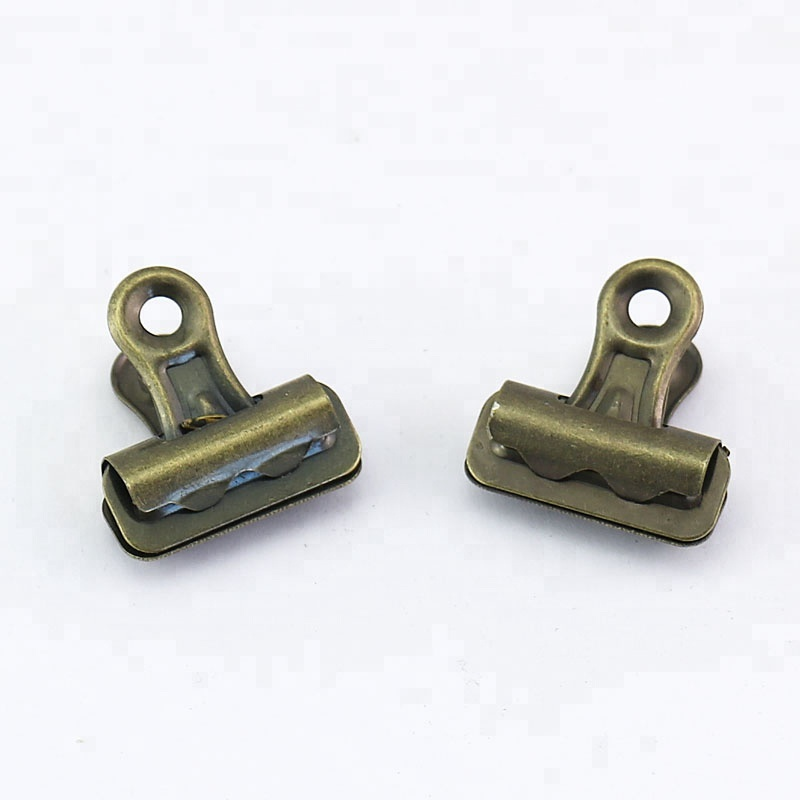 hot selling high quality bronze 25mm bulldog clips