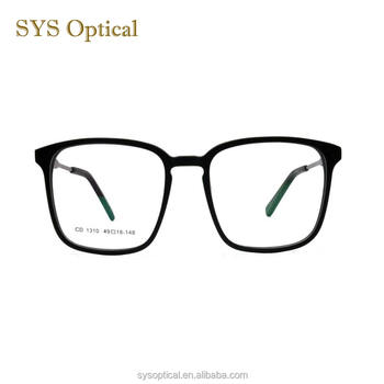 Unisex korean style oversized types of spectacles optical frame eyeglasses