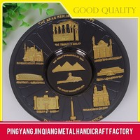 2016 Hot Sale Factory Price Metal Crafts Commemorative Plate