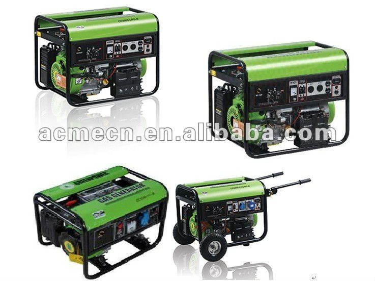 China supplier factory price CE approved small 5kw biogas gas generator