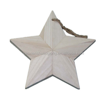 Wood Craftsorted Unfinished Wood Starsdiy Wood Stars Ready To Be Painted Or Drawing