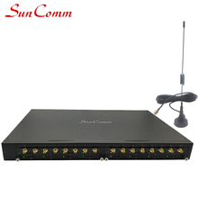 16 Porte GSM <span class=keywords><strong>VoIP</strong></span> Terminale di Collegamento SC-1695iG GSM per SORSEGGIARE 16 Chiamate Simultanee