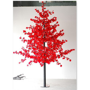 Outdoor Decoration of Artificial Maple Tree with LED