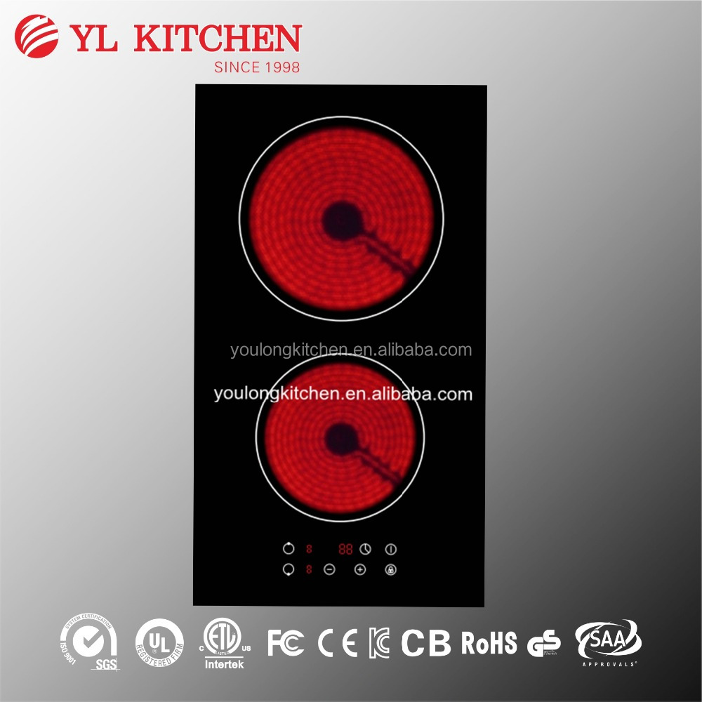 Two burners 3000W 220v vitro ceramic hob/Hi-light cooker