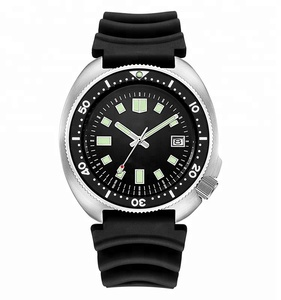 Retail 316L Stainless steel 6105 Sterile 20 ATM Water resistanc dive diving diver japan NH35A automatic movement luminous watch
