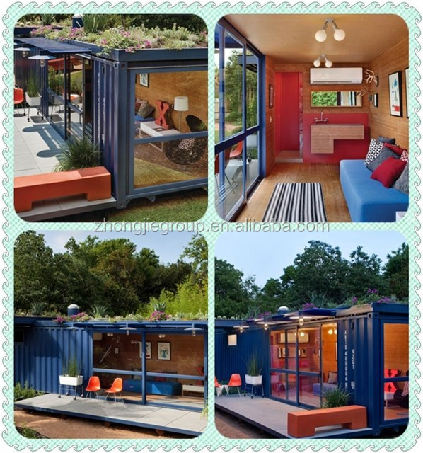 2016 Double Story Modern Prefab House For Living/american