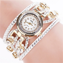 Promotion Fashion Relojes Women Bracelet Watches Watched Luxury Women Full Crystal Quartz Wrist Watch